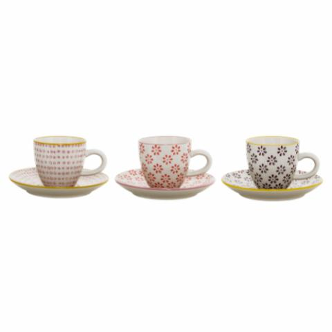 Susie Cup w/Saucer, Yellow, Stoneware