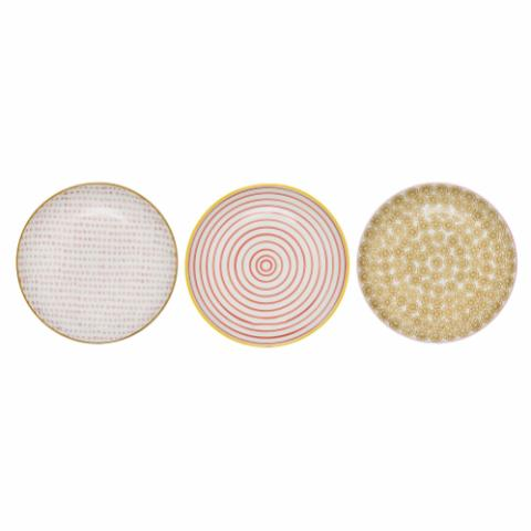 Susie Plate, Multi-color, Stoneware