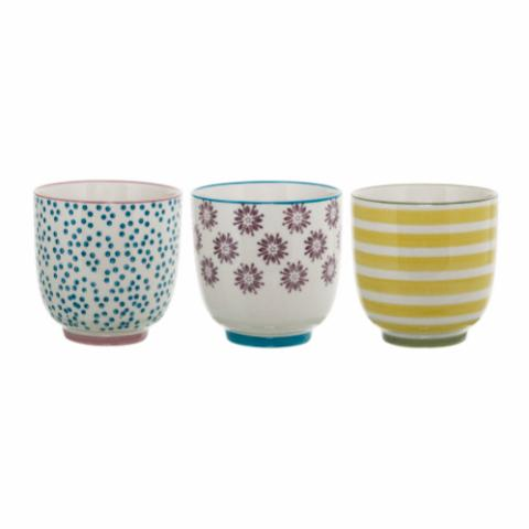 Patrizia Cup, Multi-color, Stoneware