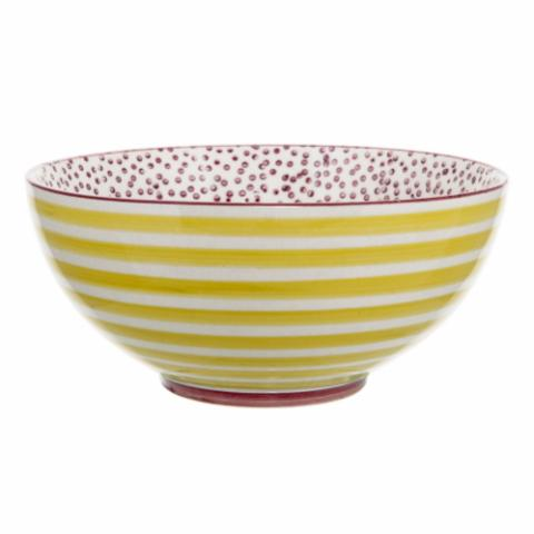 Patrizia Bowl, Multi-color, Stoneware