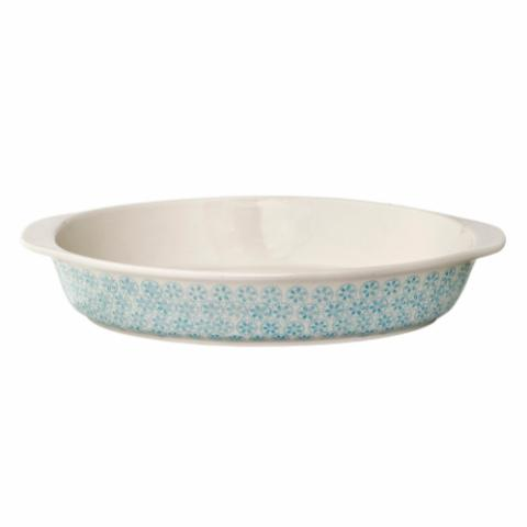 Patrizia Serving Dish, Blue, Stoneware
