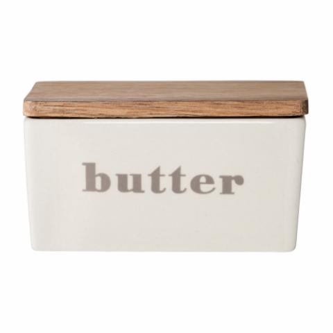 Hanyu Butter Box, Grey, Stoneware