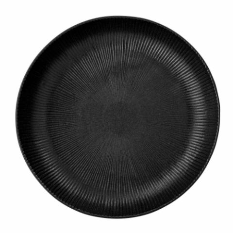 Neri Serving Bowl, Black, Stoneware