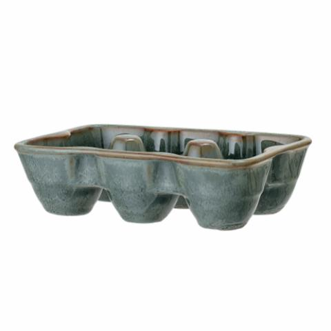 Pixie Egg Tray, Green, Stoneware