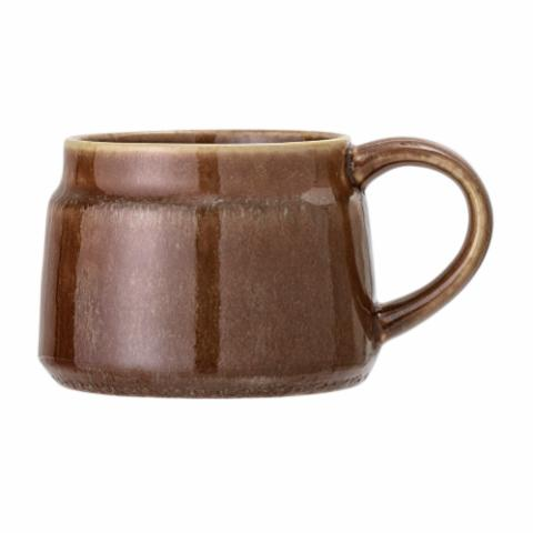 Pixie Mug, Brown, Stoneware