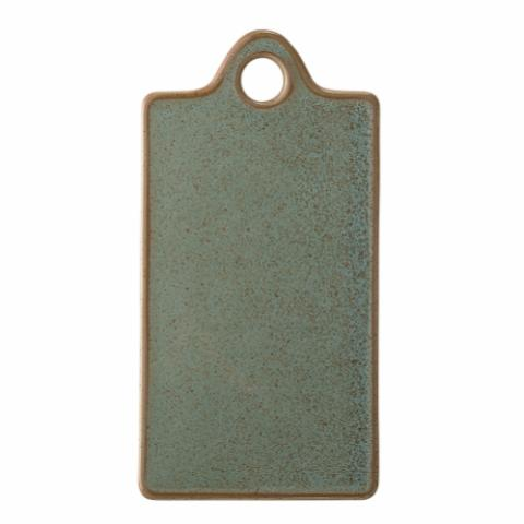 Pixie Serving Plate, Green, Stoneware