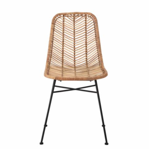 Lena Dining Chair, Nature, Rattan
