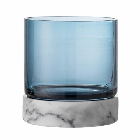 Tate Votive, Blue, Glass