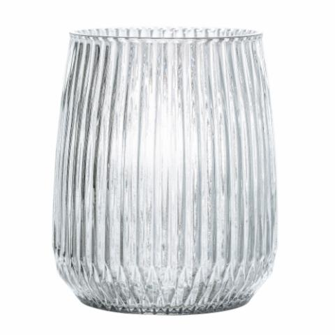 Sambika Vase, Clear, Glass