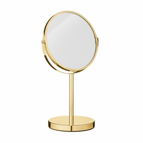 Milde Mirror, Gold, Metal