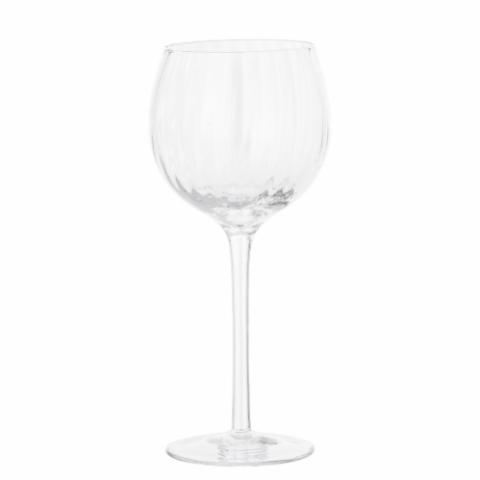 Astrid Wine Glass, Clear, Glass