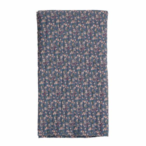 Maude Throw, Blue, Polyester