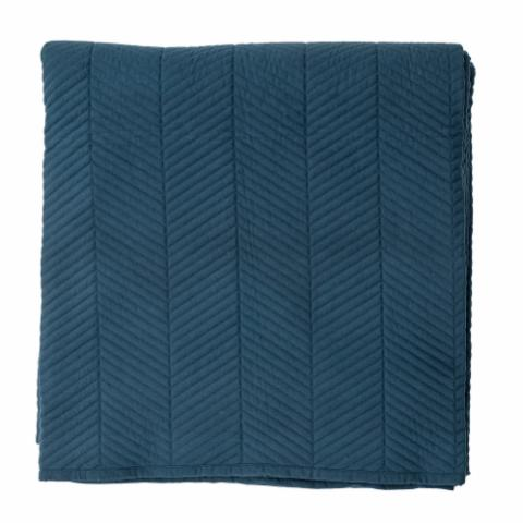 Bedspread, Blue, Polyester