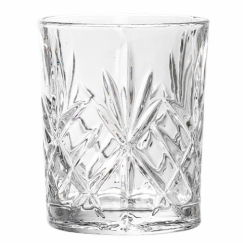 Sif Drinking Glass, Clear, Glass