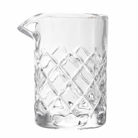 Sif Milk Jug, Clear, Glass