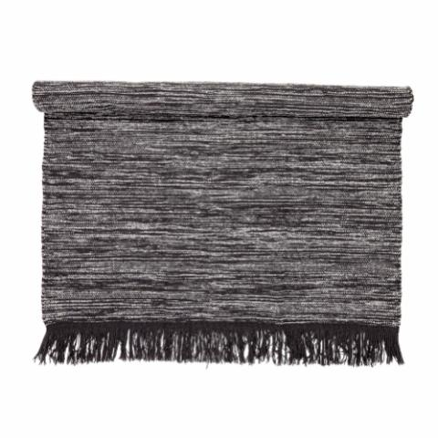Geoffrey Rug, Grey, Wool