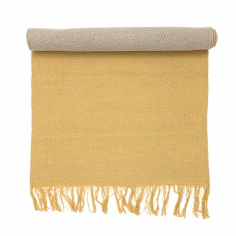 Lisbeth Rug, Yellow, Cotton