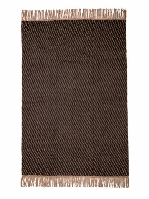 Hovard Rug, Brown, Cotton