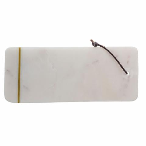 Jotkirn Cutting Board, White, Marble