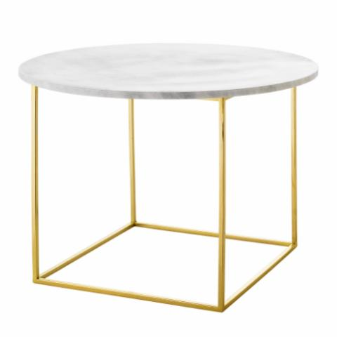 Eva Coffee Table, White, Marble