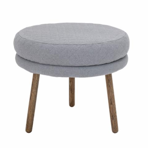 Kind Stool, Grey, Cotton