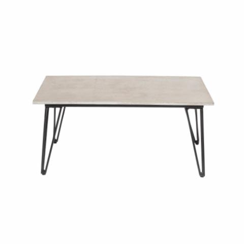 Mundo Coffee Table, Grey, Concrete