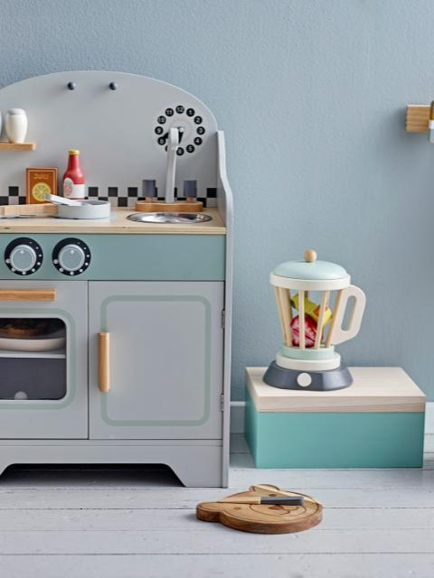 Bahoz Play Set, Kitchen, White, MDF