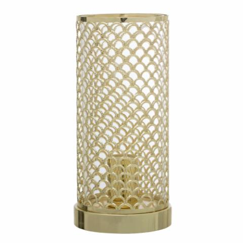 Elvi Table lamp, Gold, Metal