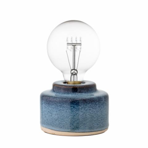 Cait Table lamp, Blue, Porcelain