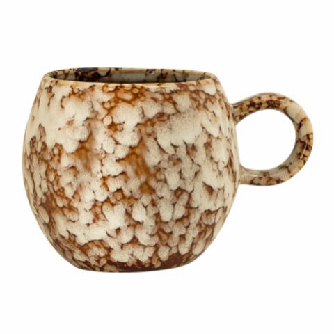 Paula Cup, Brown, Stoneware