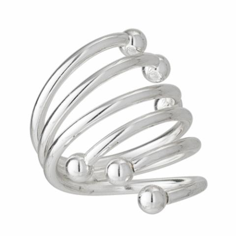 Palina Napkin Ring, Silver, Stainless Steel