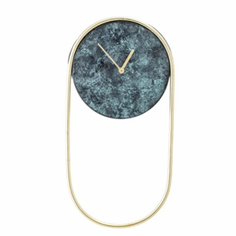Laaziz Wall Clock, Green, Metal