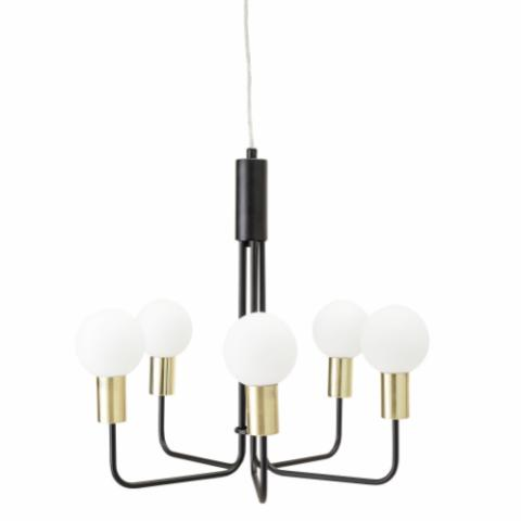 Delfina Pendant Lamp, Gold, Metal