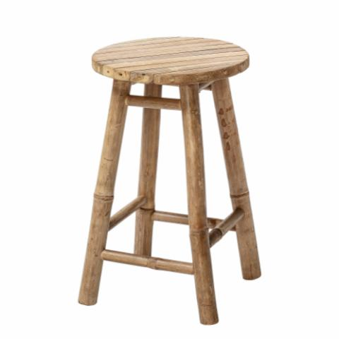 Sole Stool, Nature, Bamboo