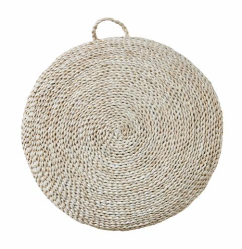 Leonardo Floor Cushion, Nature, Seagrass