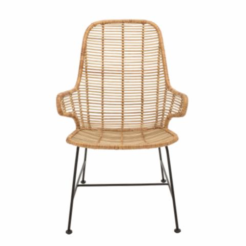 Lake Lounge Chair, Nature, Rattan