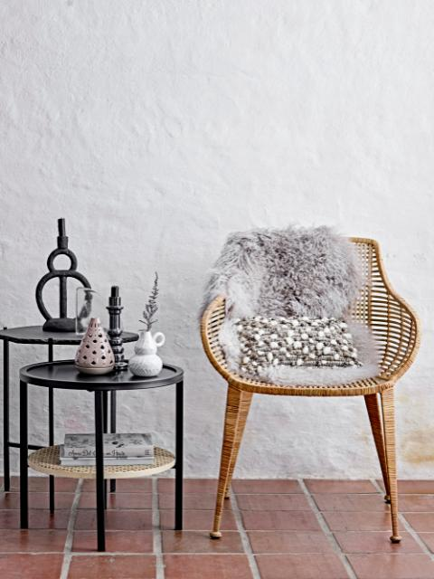 Amira Lounge Chair, Nature, Rattan