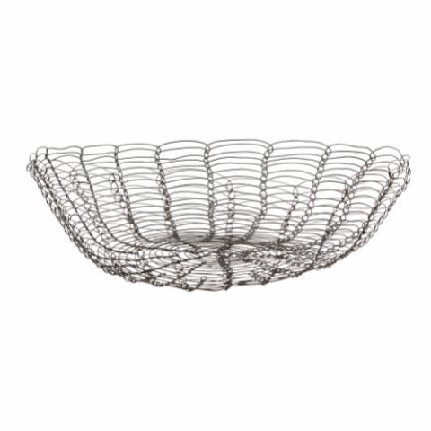 Nusret Basket, Black, Metal