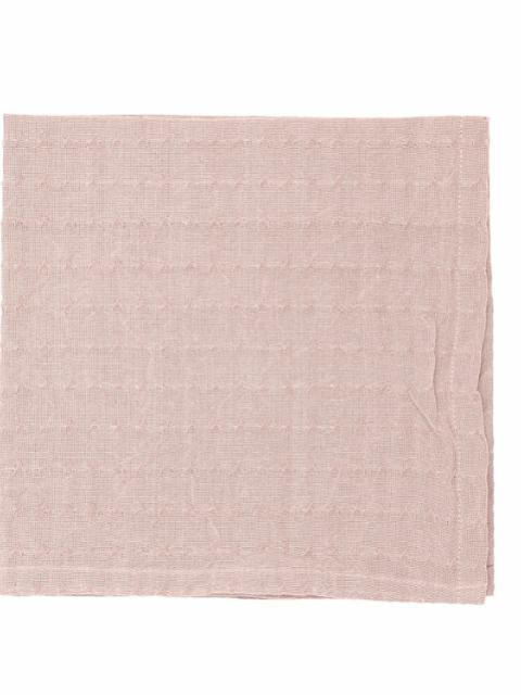 Gento Napkin Cloth, Rose, Cotton