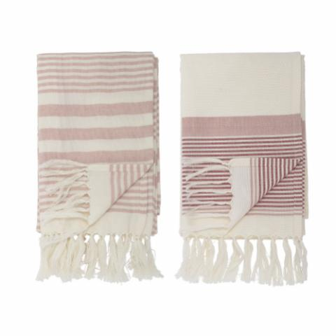 Loke Towel, Rose, Cotton