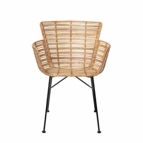 Coast Lounge Chair, Nature, Rattan