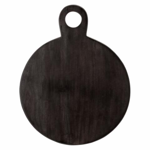 Okai Serving Tray, Black, Acacia