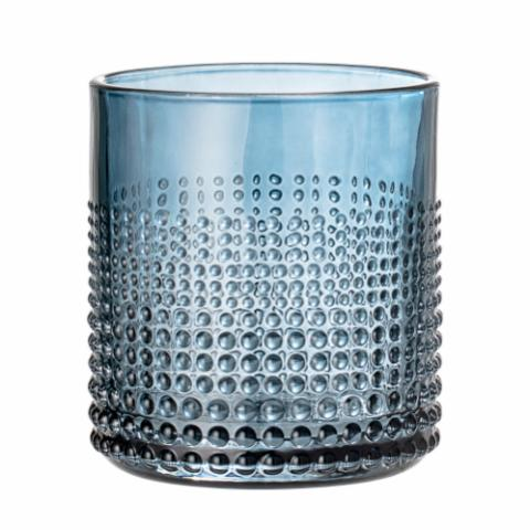 Gro Drinking Glass, Blue, Glass