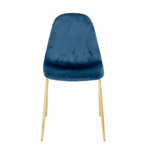 Em Dining Chair, Blue, Polyester