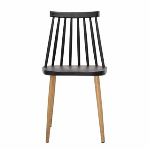 Bajo Chair, Black, Plastic