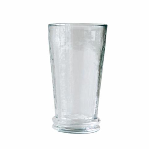 Drinking Glass, Clear, Recycled Glass
