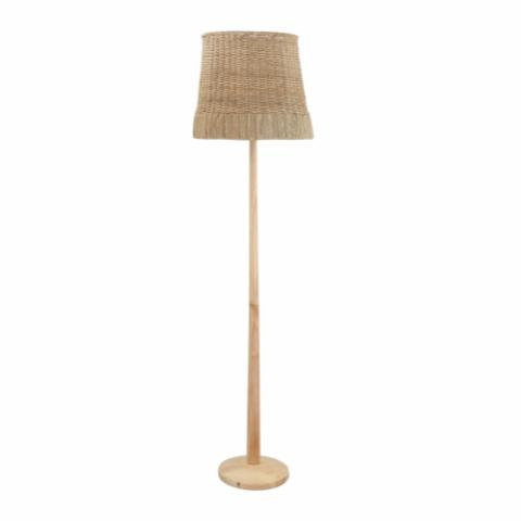 Kakasi Floor Lamp, Nature, Rattan