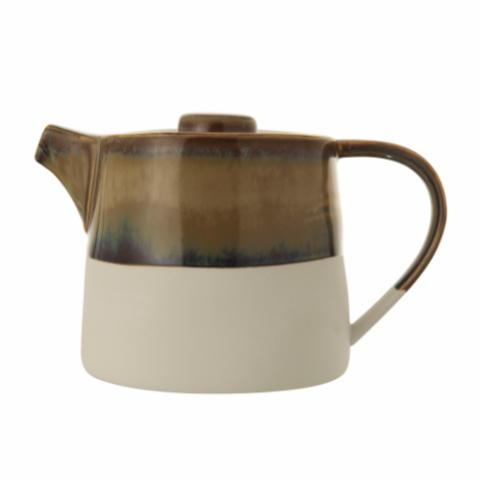 Heather Teapot, Multi-color, Stoneware