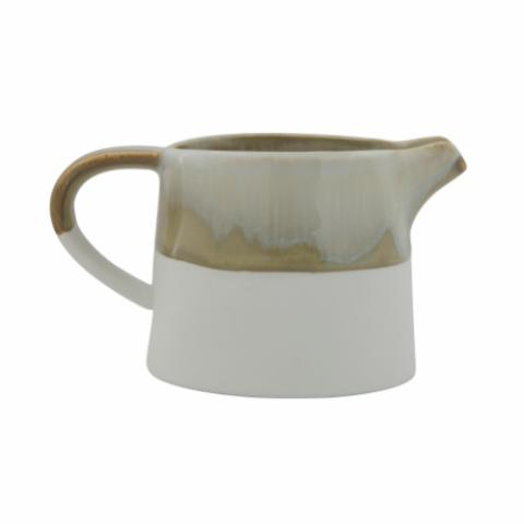 Heather Milk Jug, Green, Stoneware