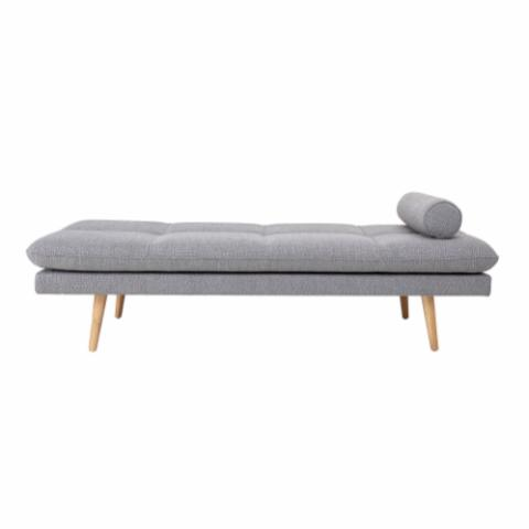 Asher Daybed, Grey, Polyester